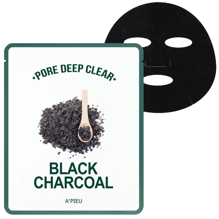 Apieu Pore Deep Clear Black Charcoal mask 1