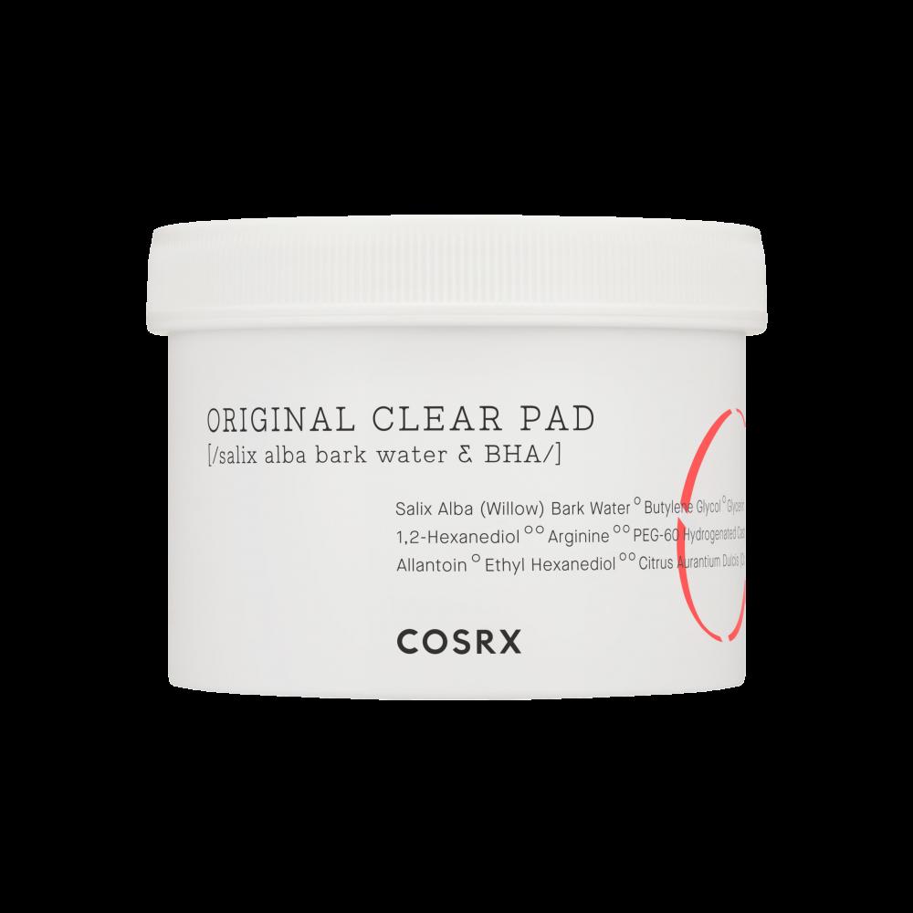 Cosrx – One Step Original Clear Pads k beauty