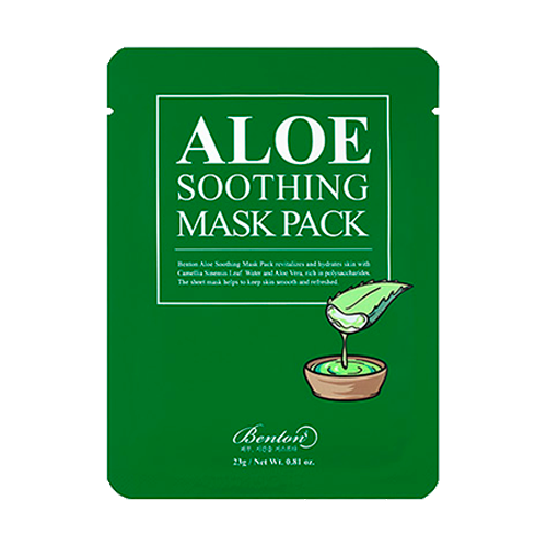Benton - Aloe Soothing Mask 1