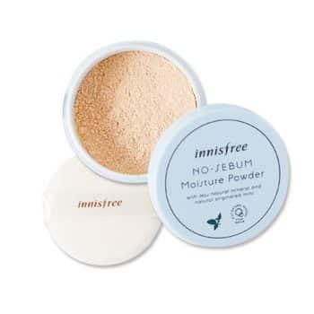 Innisfree – No Sebum Moisture Powder k beauty