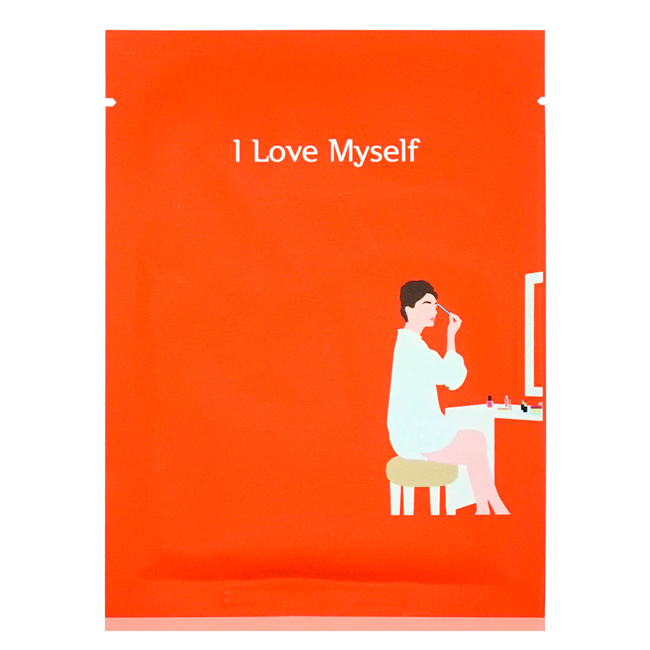PACKage - I Love Myself Makeup Boosting Sheet Mask 1