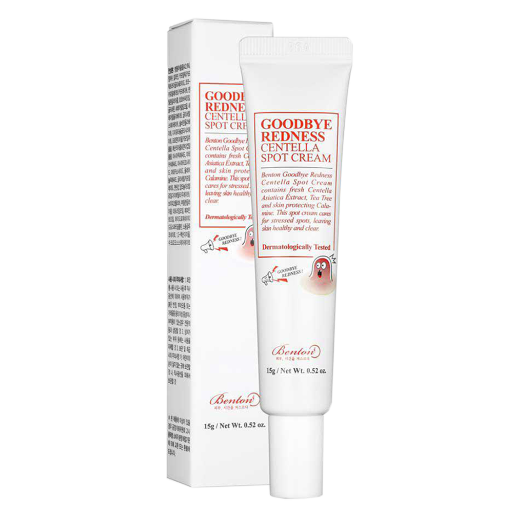 Benton - Goodbye Redness Centella Spot Cream 1