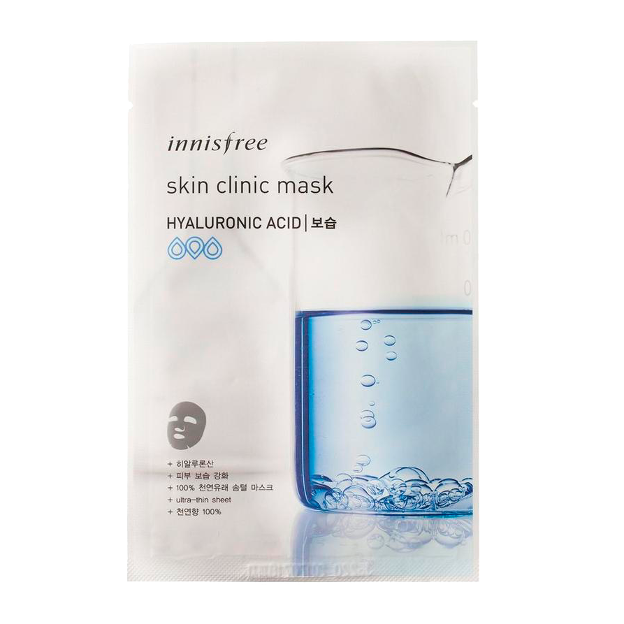 Innisfree - Skin Clinic Mask Hyaluronic Acid 1