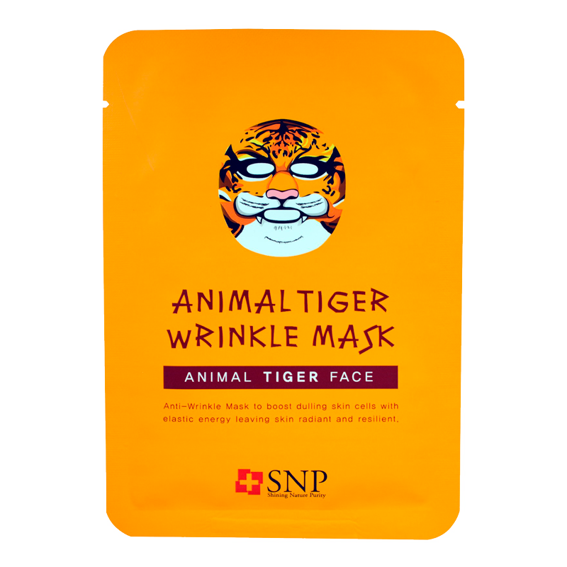 SNP - Animal Tiger Wrinkle Mask 1