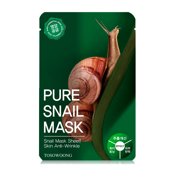 Tosowoong - Pure Snail Mask 1