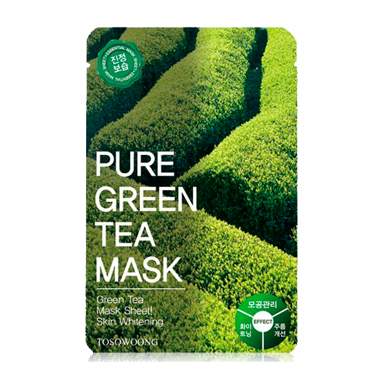 Tosowoong - Pure Green Tea Mask 1