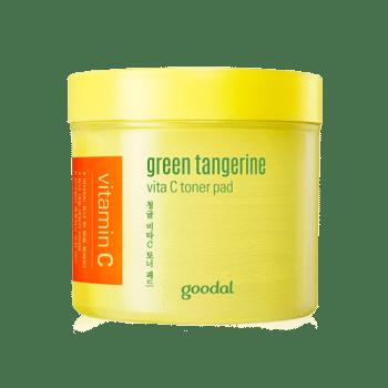 Goodal – Green tangerine vita C toner pad k beauty