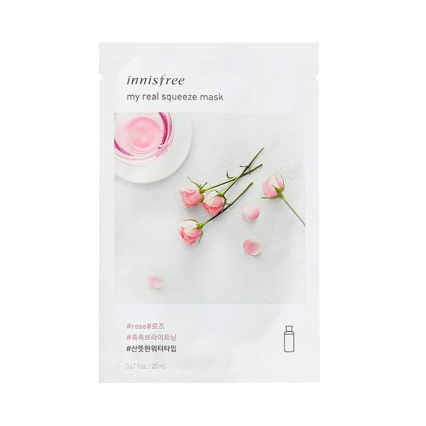 Innisfree - My Real Squeeze Mask Rose 1