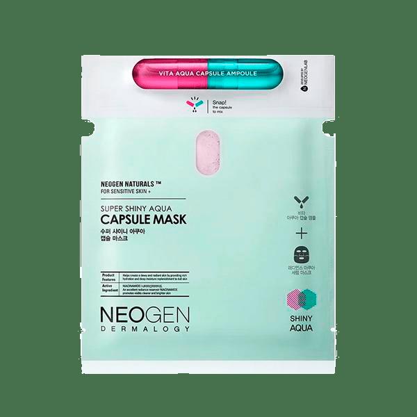 Neogen - Super Shiny Aqua Capsule Mask 1