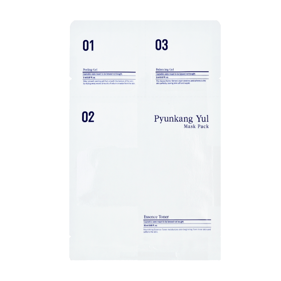 Pyunkang Yul - 3 Step Mask Pack 1