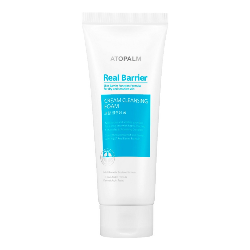 Real Barrier - Cream Cleansing Foam 1