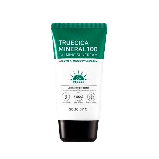 Some By Mi - Truecica Mineral 100 Calming Suncream SPF50+ PA++++ 1