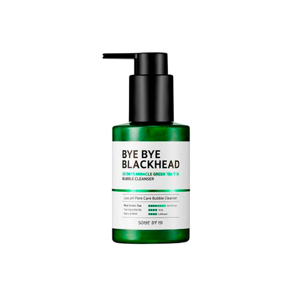 Some By Mi Bye Bye Blackhead 30Days Miracle Green Tea Tox Bubble Cleanser 1