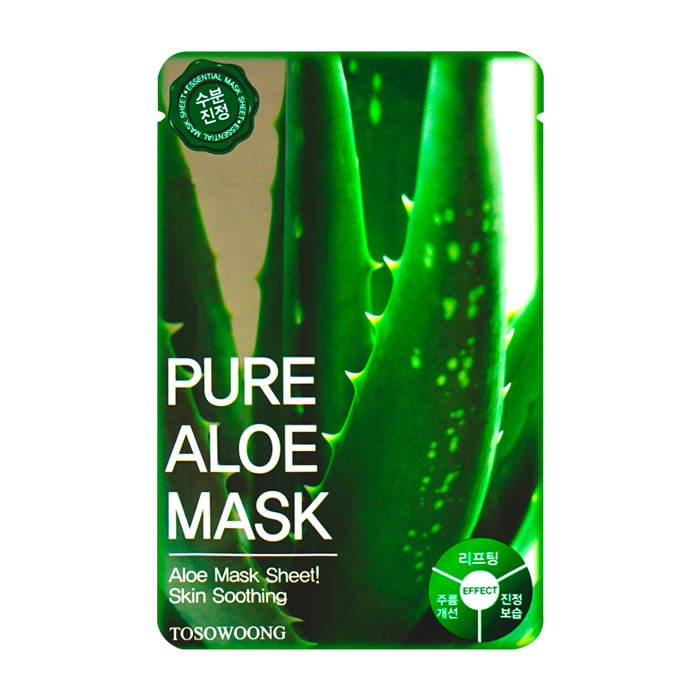 Tosowoong - Pure Aloe Mask 1
