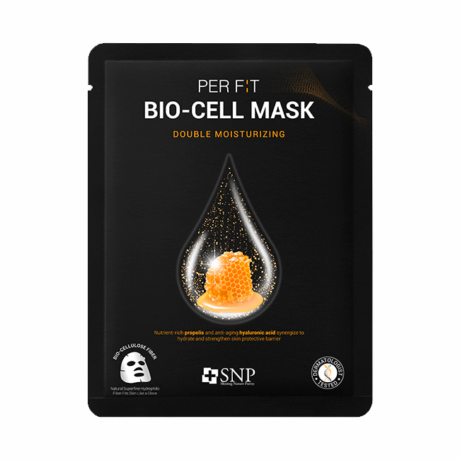 SNP - Per Fit Bio cell Double Moisturizing Mask 1