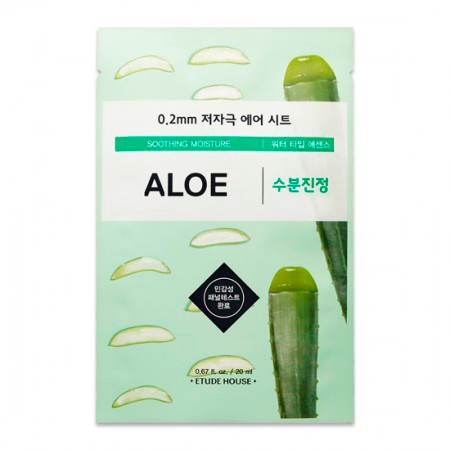 Etude House - 0.2 Therapy Air Mask Aloe 1
