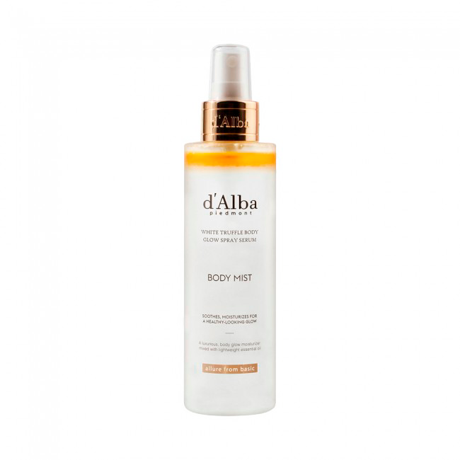 d'Alba - White Truffle Body Glow Spray Serum 1