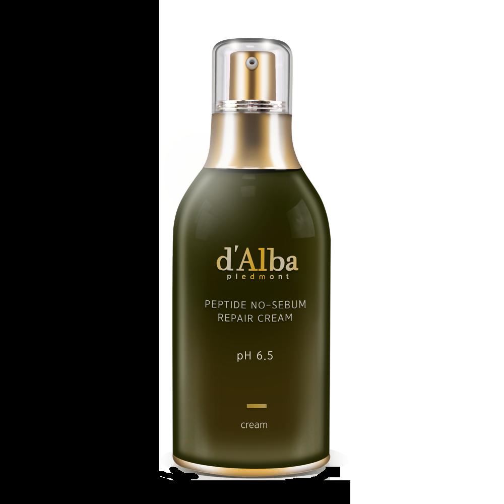 d'Alba - Piedmont Peptide No Sebum Repair Cream 1