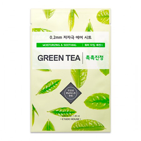 Etude House - 0.2 Therapy Air Mask Green Tea 1