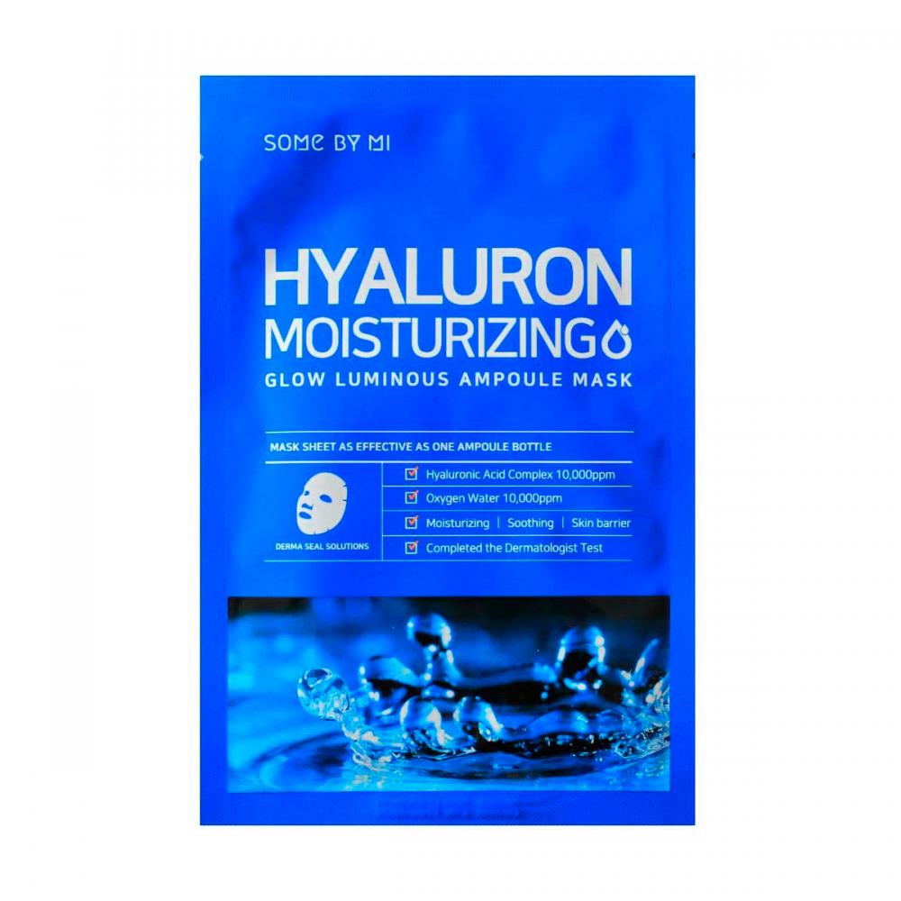Some By Mi – Hyaluron Moisturizing Ampoule Sheet Mask k beauty