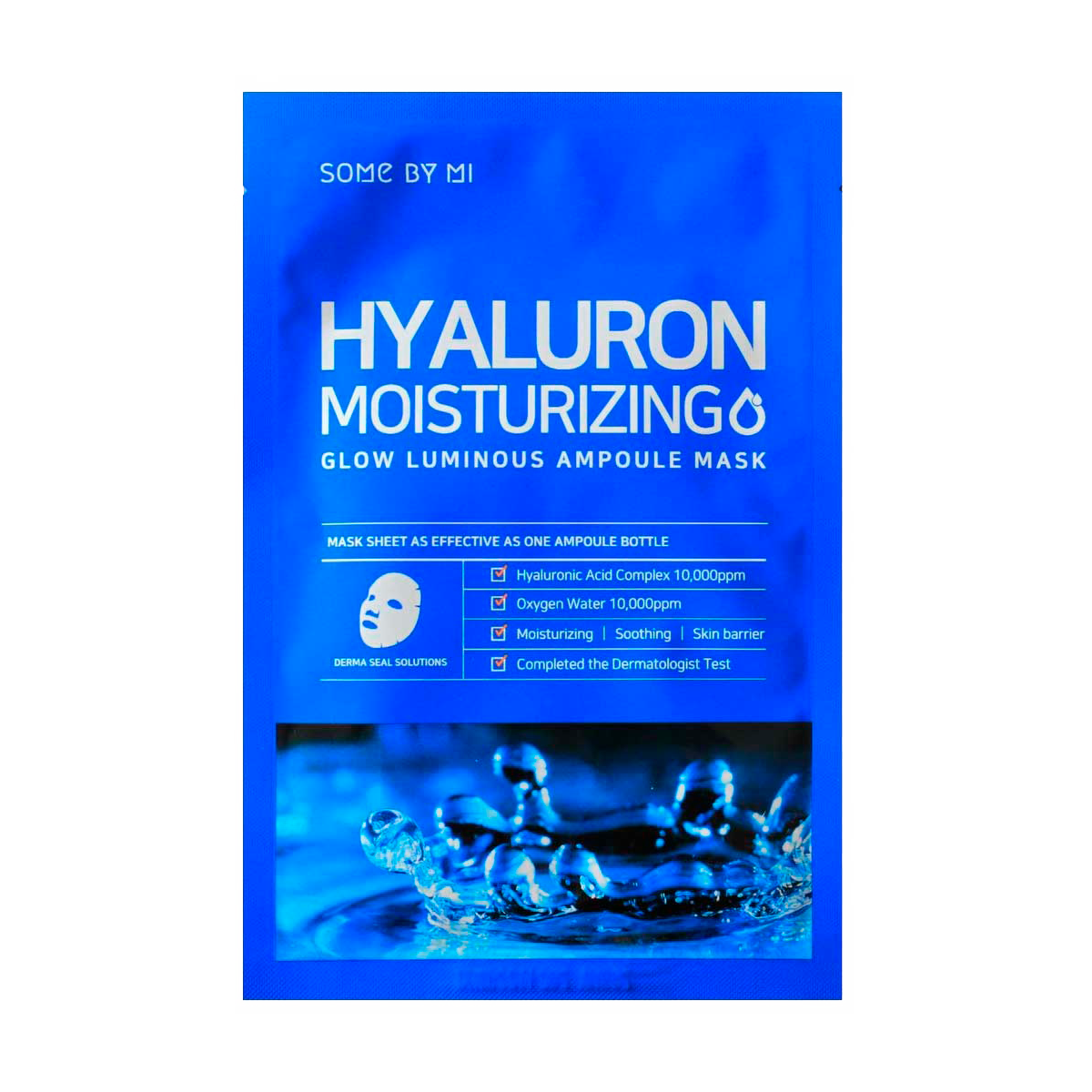 Some By Mi - Hyaluron Moisturizing Ampoule Sheet Mask 1
