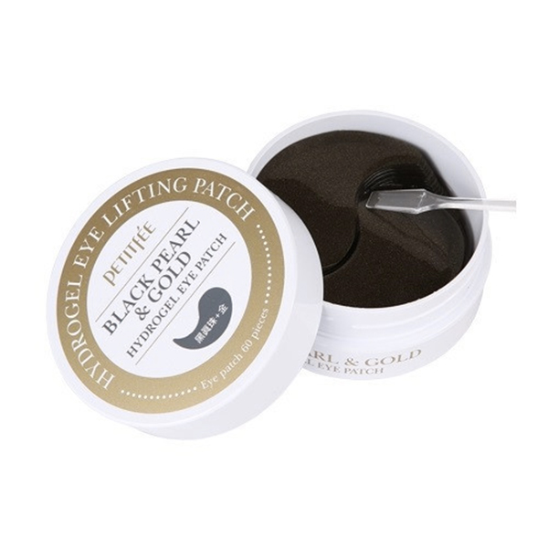 Petitfee - Black Pearl & Gold Hydrogel Eye Patch 2