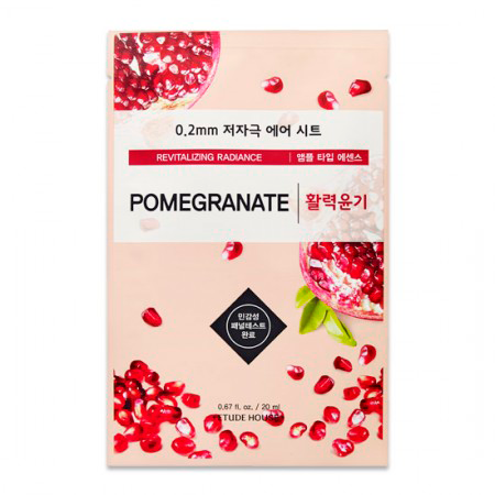 Etude House - 0.2 Therapy Air Mask Pomegranate 1