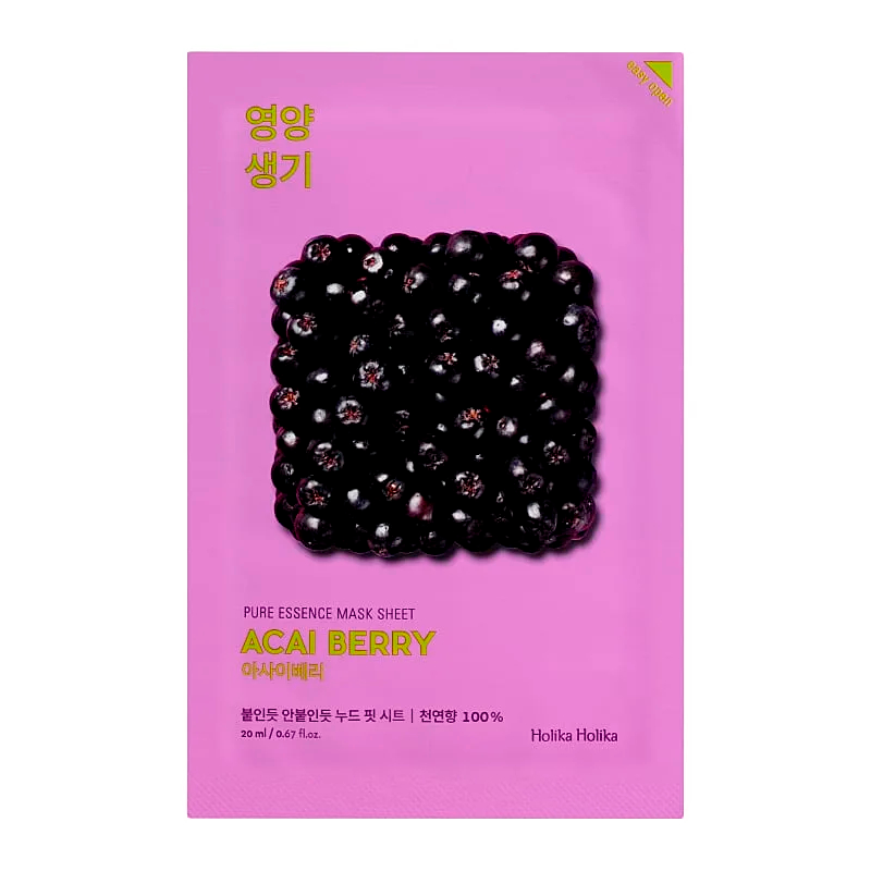 Holika Holika - Pure Essence Mask Sheet Acai Berry 1