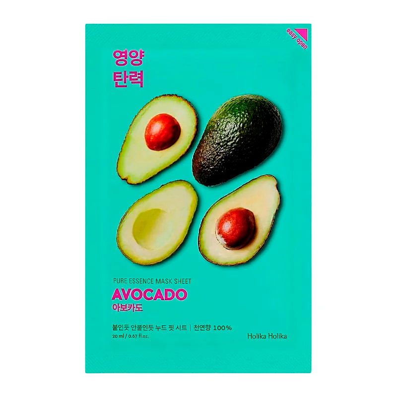 Holika Holika - Pure Essence Mask Sheet Avocado 1