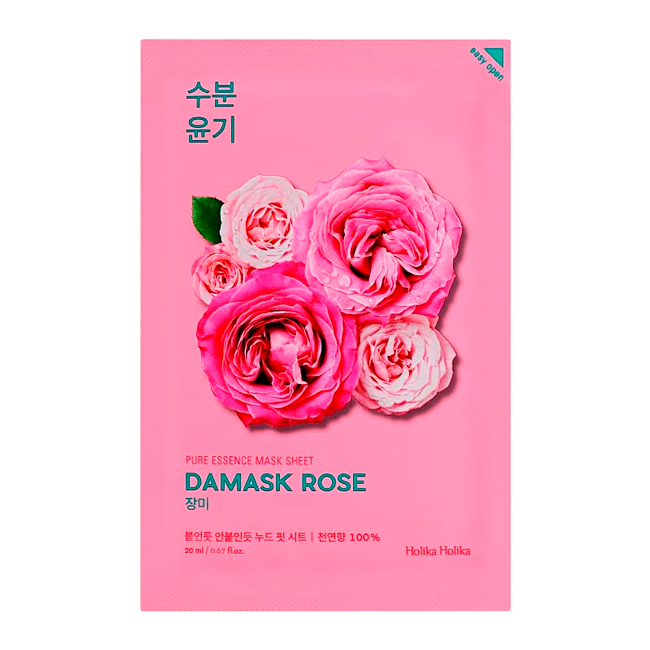 Holika Holika - Pure Essence Mask Sheet Damask Rose 1