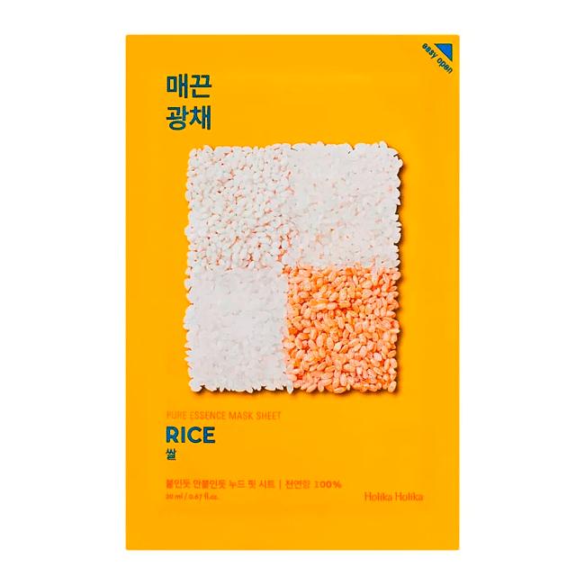 Holika Holika – Pure Essence Mask Sheet Rice k beauty