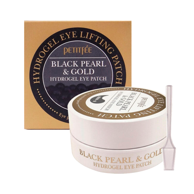 Petitfee - Black Pearl & Gold Hydrogel Eye Patch 1