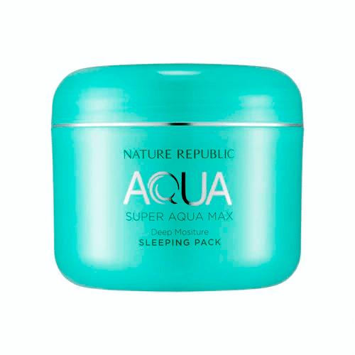 Nature Republic - Super Aqua Max Deep Moisture Sleeping Pack 1