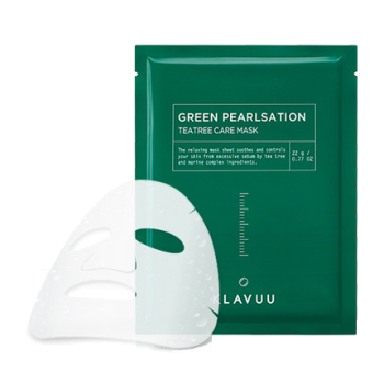 Klavuu –  Tea Tree Care Mask k beauty