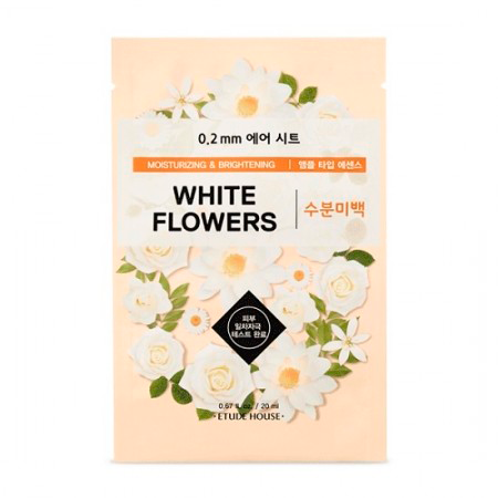 Etude House – 0.2 Therapy Air Mask White Flowers 1