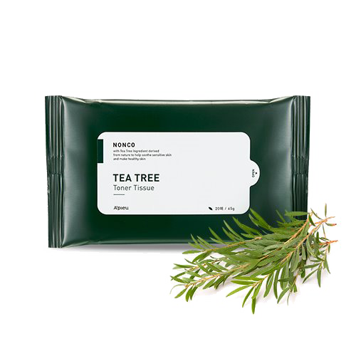A'pieu - Nonco Tea Tree Toner Tissue 1