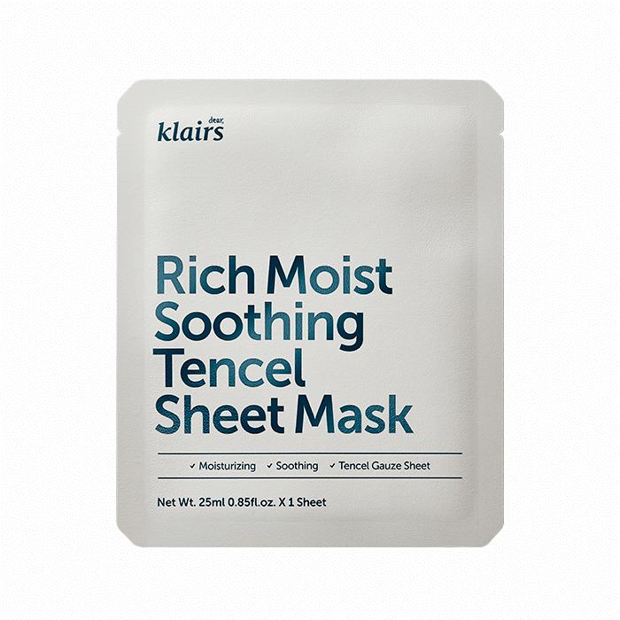 Klairs - Rich Moist Soothing Tencel Sheet Mask 1