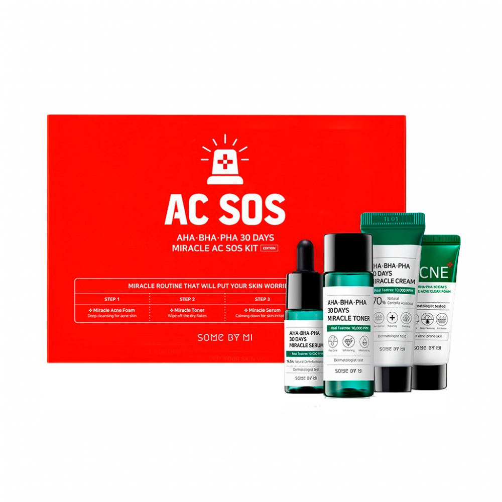 Some By Mi - AHA.BHA.PHA 30 Days Miracle AC SOS Kit 1