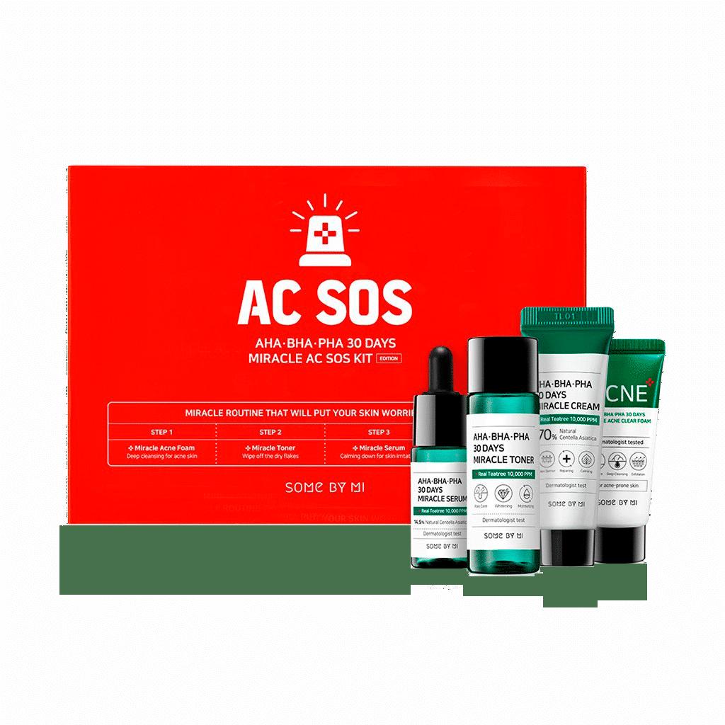 Some By Mi - AHA.BHA.PHA 30 Days Miracle AC SOS Kit 1