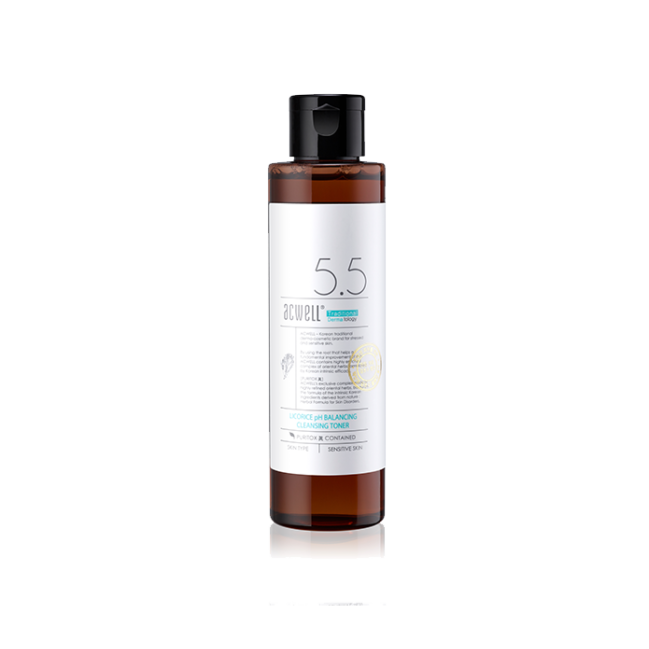 Acwell - Licorice pH Balancing Cleansing Toner 1