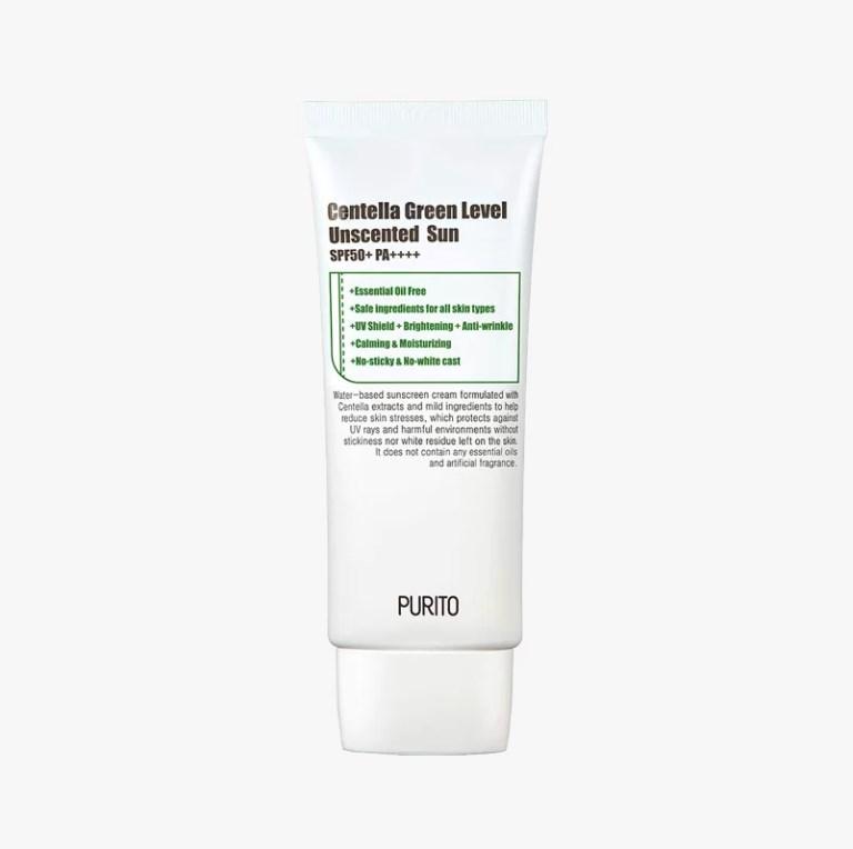 PURITO - Centella Green Level Unscented Sun SPF50+ PA++++ 1
