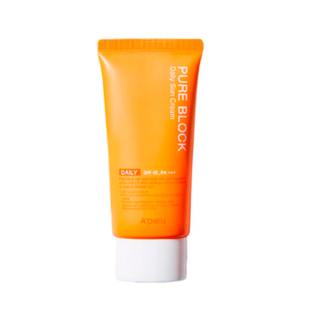 A'Pieu – Pure Block Natural Daily Sun Cream SPF45 PA+++ k beauty