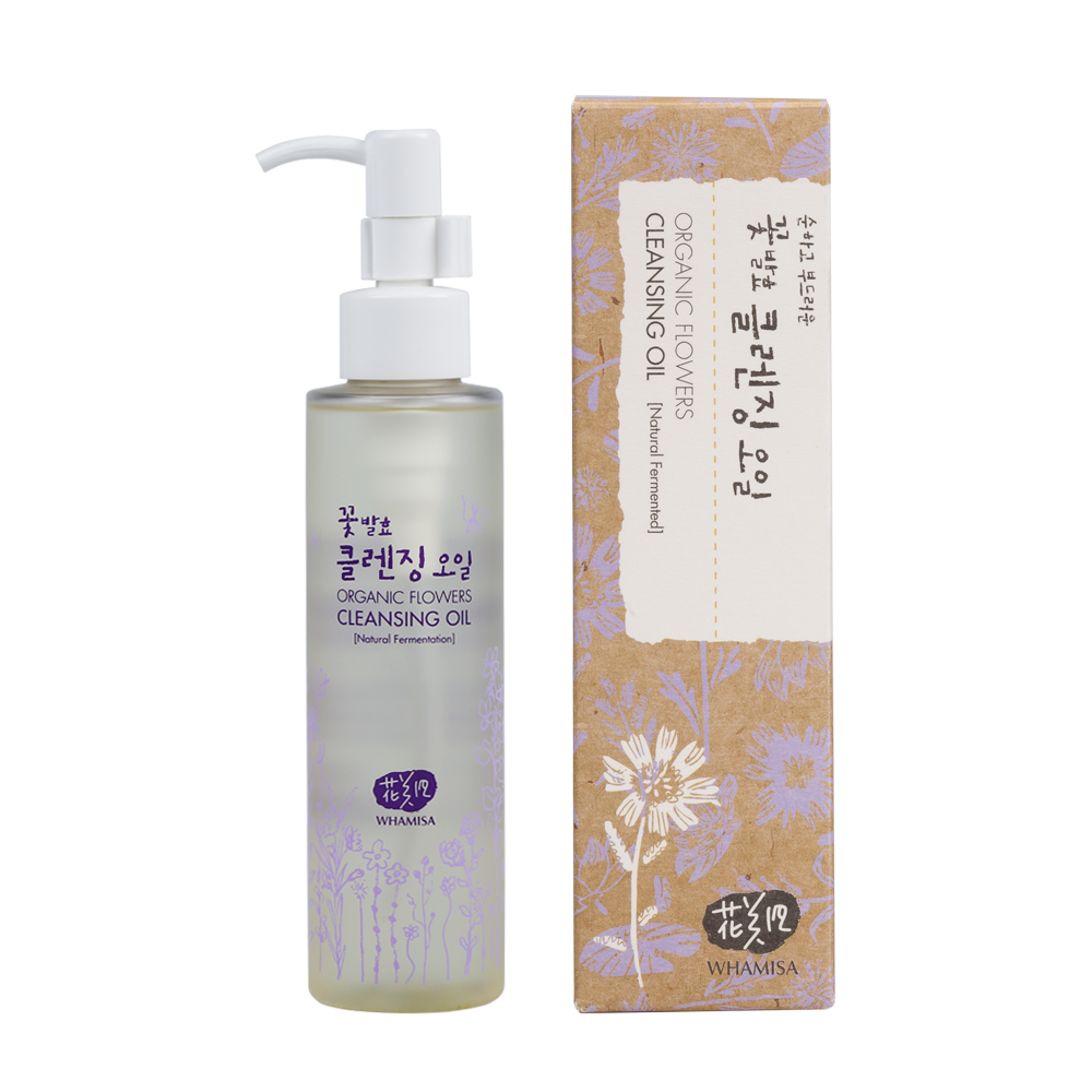 Whamisa - Organic Flowers Cleansing Oil 1