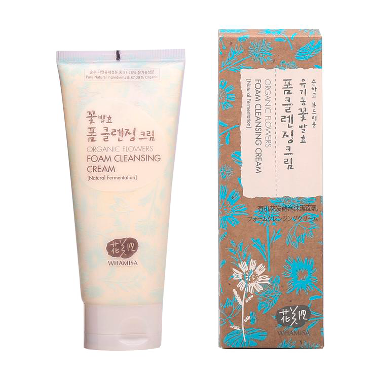 Whamisa - Organic Flowers Foam Cleansing Cream 1