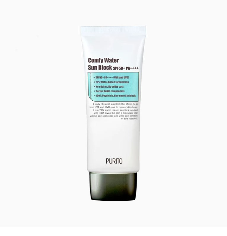 PURITO - Comfy Water Sun Block SPF50+ PA++++ 1