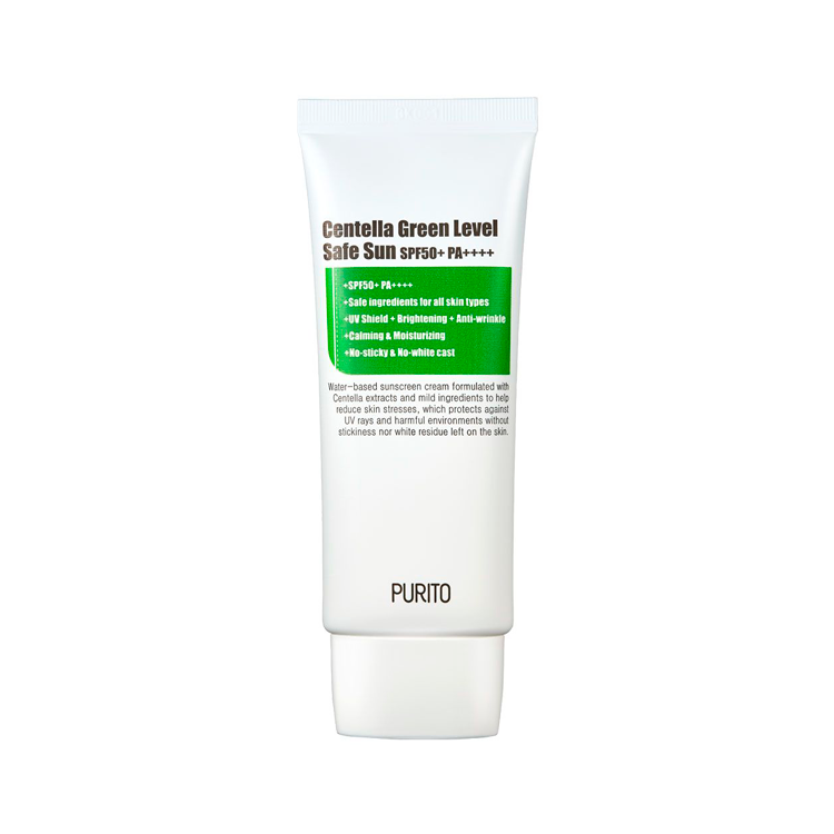 PURITO - Centella Green Level Safe Sun SPF50+ PA++++ 1