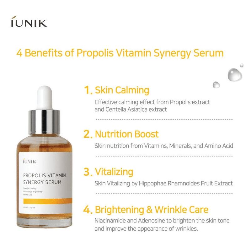 IUNIK – Propolis Vitamin Synergy Serum k beauty