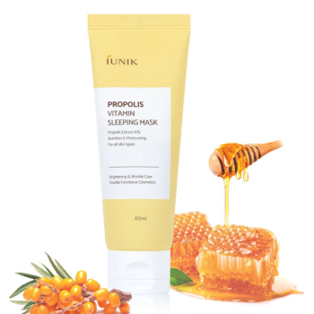 IUNIK – Propolis Vitamin Sleeping Mask k beauty