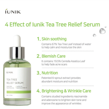 IUNIK – Tea Tree Relief Serum k beauty