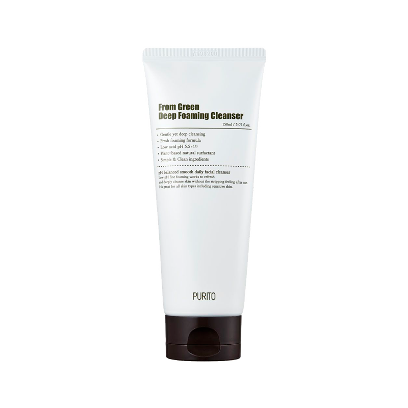Purito - Green Deep Foaming Cleanser 1